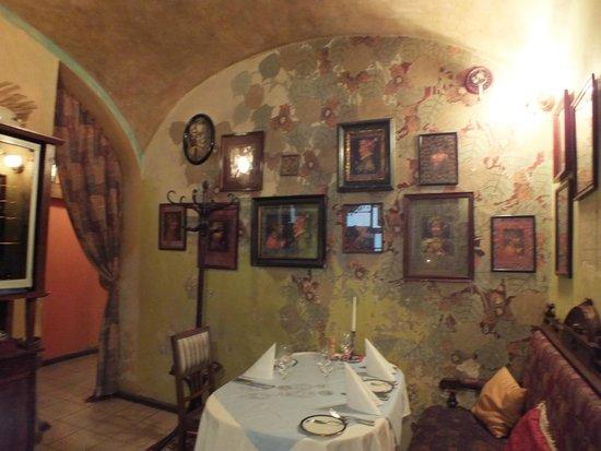 Restaurant U Modre kachnicky : La saletta al piano terra (gli altri locali sono anche più belli)