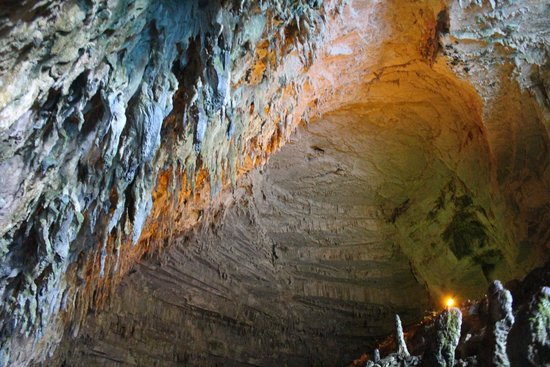 Inside the Melissani Cave