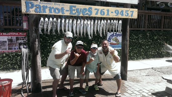 Parrot Eyes Watersports: Great day of fishing