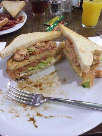 Oblico Cafe': Club sandwich !