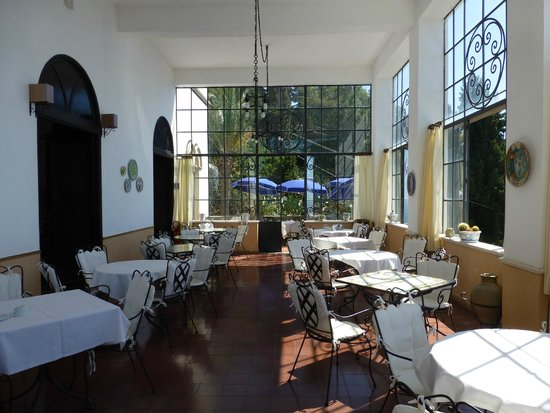 Breakfast room - Picture of Bel Soggiorno Hotel, Taormina ...