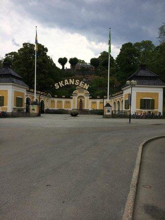 Musée de plein air de Skansen : The entrance (one of them, not the main)