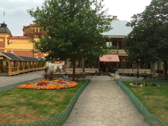 Musée de plein air de Skansen : Restauration Gubbhyllan