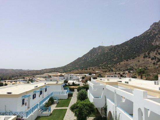 Mitsis Norida Beach Hotel: Udsigt fra altan