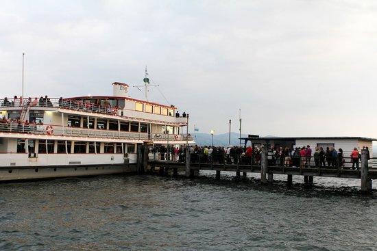 Hotel Bad Schachen: Ferry to Bregenz