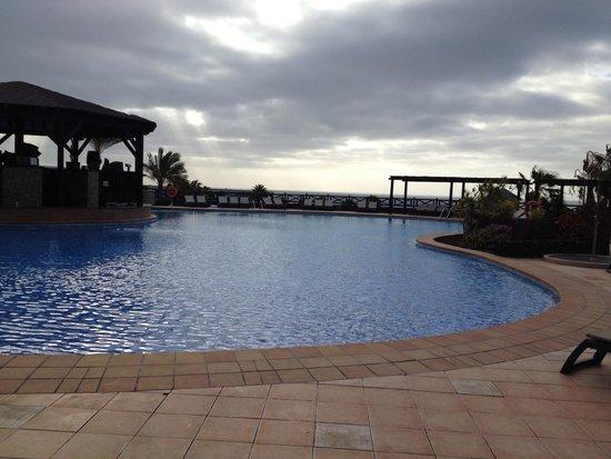 Occidental Jandia Playa: a la tombée de la nuit piscine