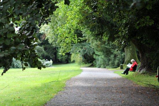 Hotel Bad Schachen: Extensive walks