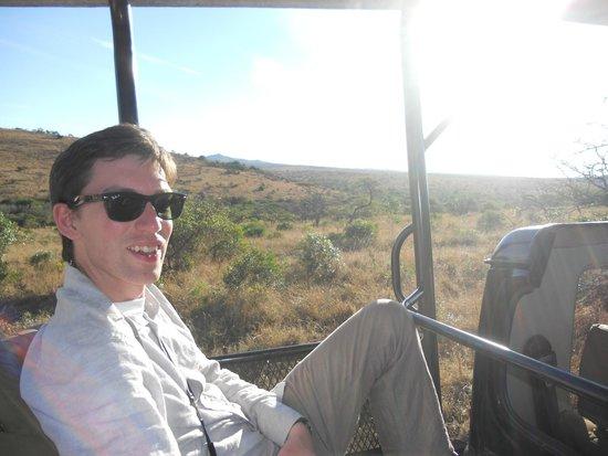 Zulu Nyala Heritage Safari Lodge: on safari