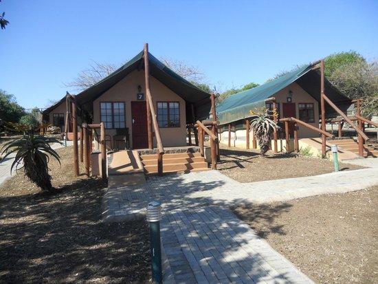Zulu Nyala Heritage Safari Lodge: our tent