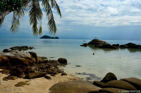 Sea Sunset Resort: Vue de la terrasse du bungalow 1...