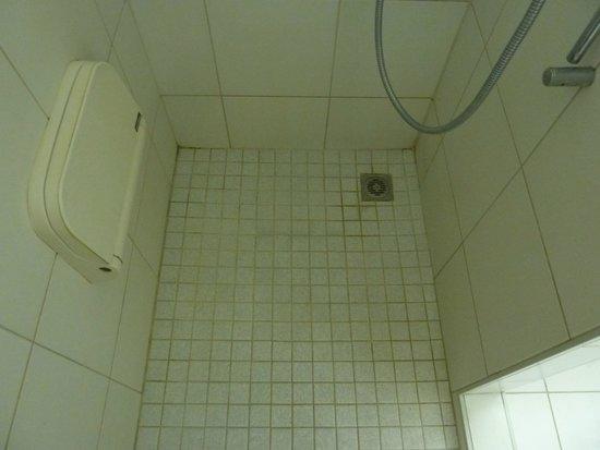 Thessoni Classic Zürich: Плесневелый и грязный душ