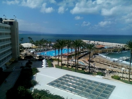 Mövenpick Hotel Beirut: View from room