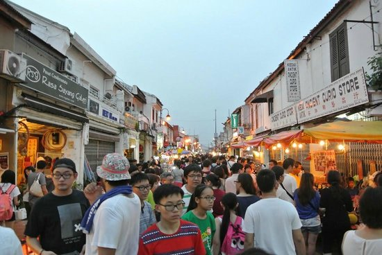 Jonker Street : The crowd