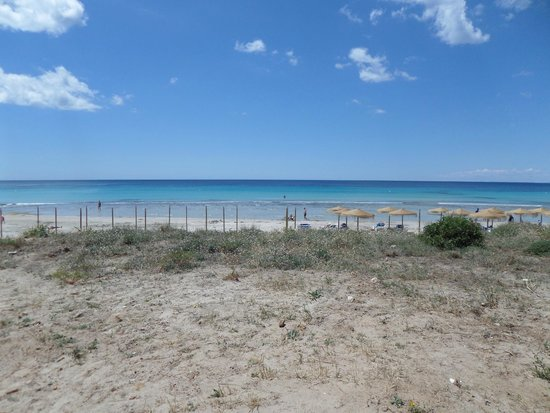 Apartamentos Son Bou Gardens: The beach at Son Bou Gardens