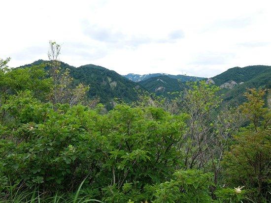 Hakusan National Park, Japan: 白山連峰の遠景
