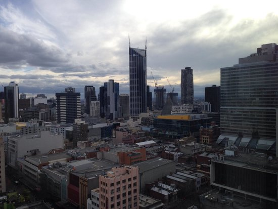 Citadines on Bourke Melbourne: View from level 23 at Citadines on Bourke.