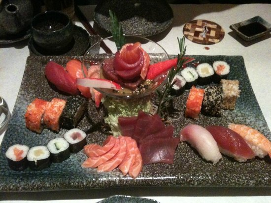 YEN'S: Sushi-Platte