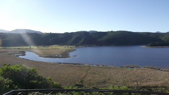 Lodge On The Lake & Wellness Spa : The beautiful view across the Wilderness lakes