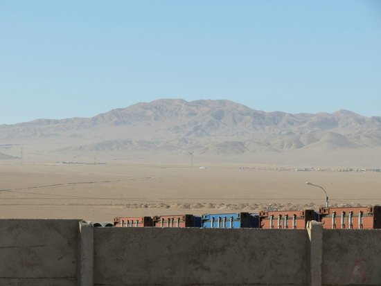 Atacama Dessert: A view on the plateaux