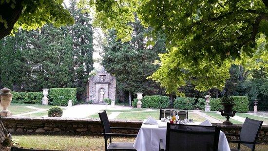 Chateau de la Pioline : jardin