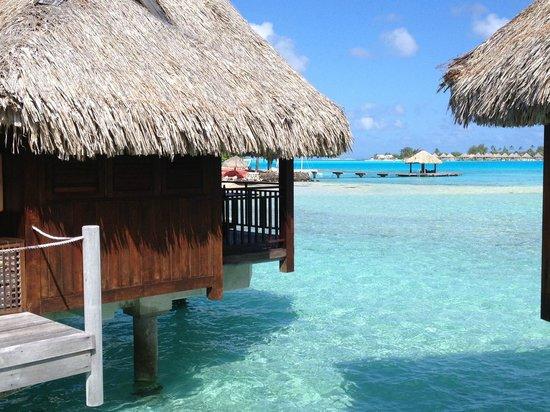 Sofitel Bora Bora Private Island : Our bungalow in paradise :)