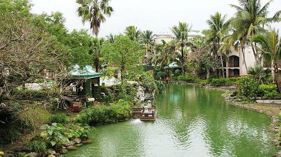 Promisedland Resort & Lagoon: 遊河景觀