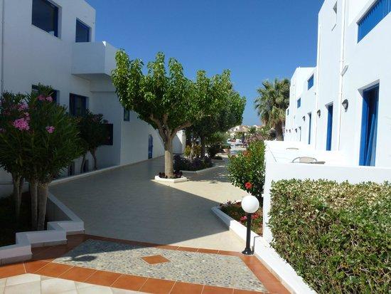 Hara Ilios Hotel : Jardins
