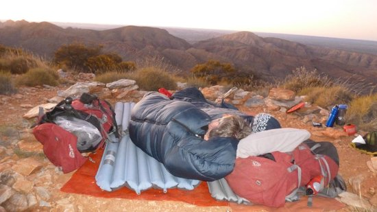 The Larapinta Trail: Sleeping on Brinkley Bluff