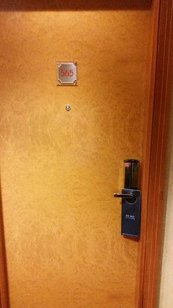 Hilton London Paddington: My room number
