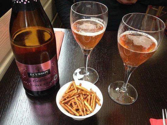 L'Equipage Crêperie : le nouveau cidre rosé délicieux