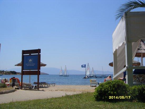 Neilson Phokaia Beachclub: View of the waterskiing pier