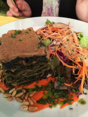 Le Potager du Marais: Spinach Lasagne