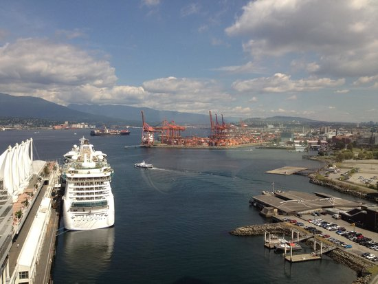 Fairmont Waterfront: View from room 1911