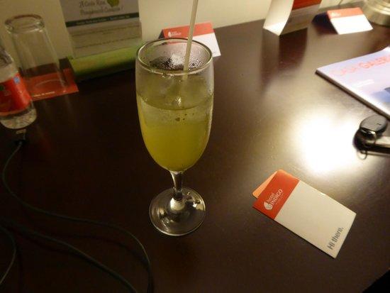 Hotel Holiday Inn Express San Jose Forum Costa Rica: WELCOME DRINK