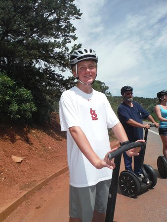 Adventures Out West: Garden of the Gods segway tour - along the tour