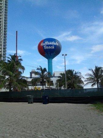 Hallandale Beach: At the Hallandale  Beach
