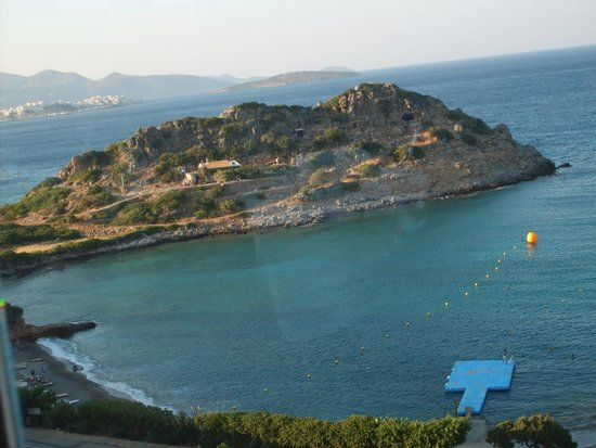 Blue Marine Resort & Spa : View from Olive Oil Restaurant on 5th floor.
