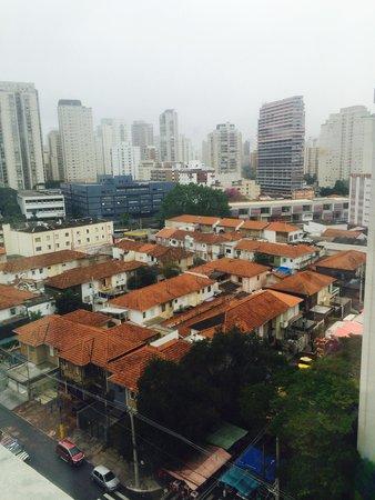 Mercure Sao Paulo Vila Olimpia Hotel: View from the 10 floor room