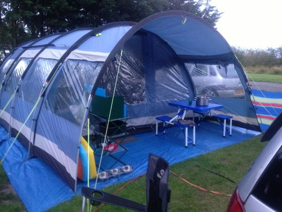 Solway Holiday Village: Our 8x4 tent