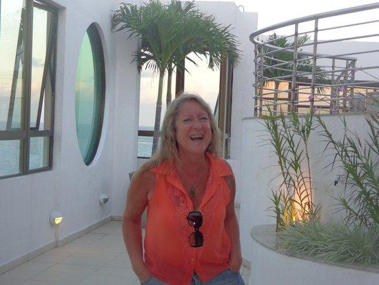 Best Western PREMIER Maceio: terraço do hotel, um espaço maravilhoso com uma bela vista
