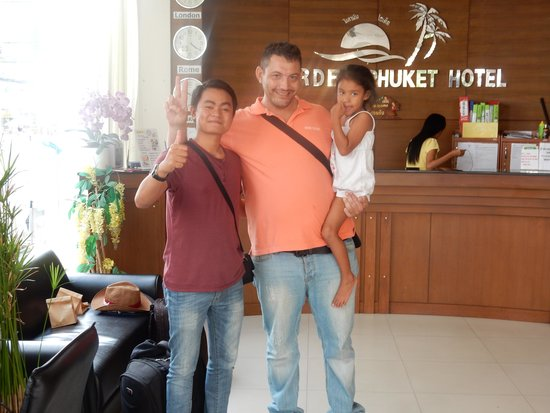 Garden Phuket Hotel : With The Bos :)