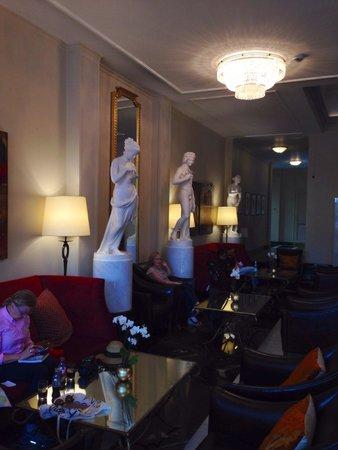 Angleterre Hotel: La hall. Zlatan2005