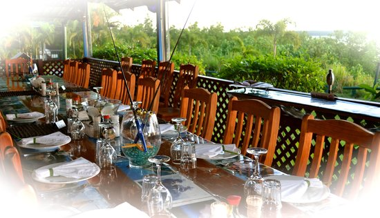 Clearwater Island Lodge : Dining