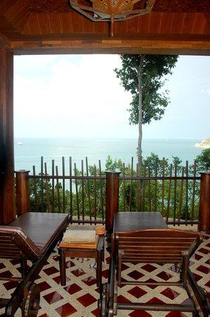 Panviman Resort - Koh Pha Ngan: Terasse