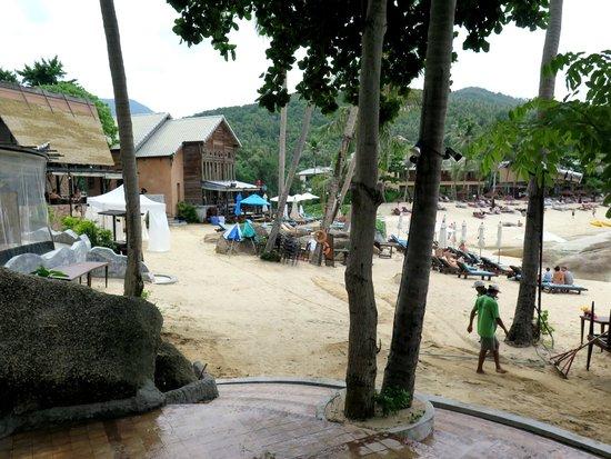 Panviman Resort - Koh Pha Ngan: Restaurant am Strand