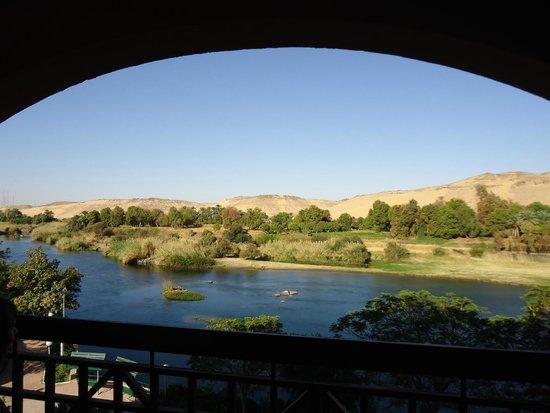 LTI - Pyramisa Isis Island Resort & Spa : Vue de la chambre donnant sur un bras du Nil