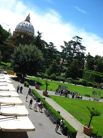 Vatikanische Museen (Musei Vaticani): bahçe