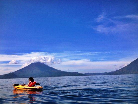 La Fortuna at Atitlan : Morning kayak