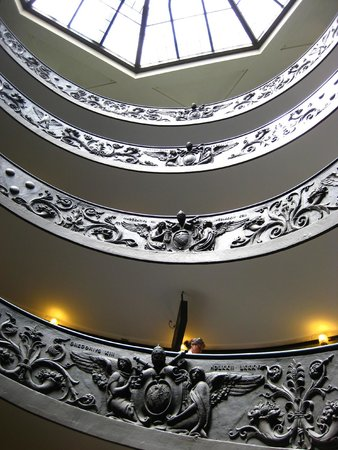 Vatikanische Museen (Musei Vaticani): merdiven