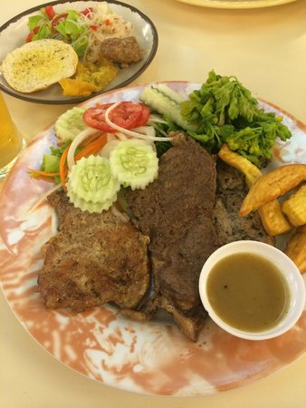 T-Bone Steak Buffet